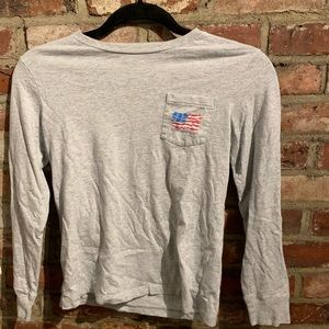 Vineyard Vines top.  Size small (8-10)